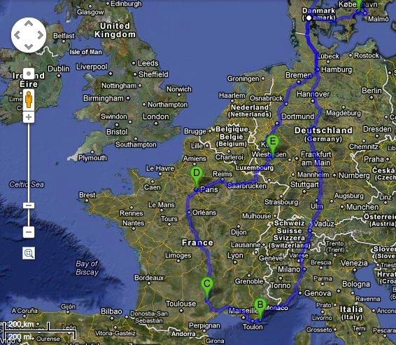 moseldalen kart Familien Ulvseth's Camping blogg | Ferske Caravanister på tur, les  moseldalen kart